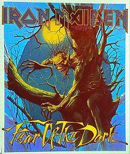 Vintage 1992 Iron Maiden Fear Of The Dark Iron-On Transfer RARE