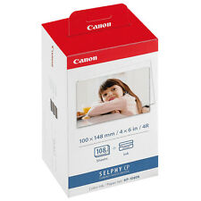 Genuine CANON Photo Printer Ink&Paper Set KP-108IN for SELPHY CP1200 910 900 820