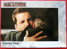 Battlestar galactica-premiere edition-carte #56 - family ties