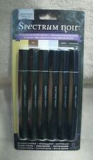 """Spectrum Noir Double Ended, Alcohol Ink Markers, """" Essentials"""" 6ct. ~ NEW"""