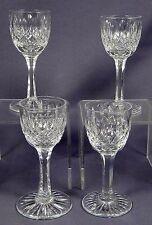 TUDOR CRYSTAL CATHERINE III  Cordial Glasses SET OF FOUR (4)