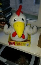 Very rare and hard to find...Tekky toys funky chicken sings bird is the word.