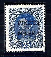 POLAND - POLONIA - 1919 - Serie ordin. per la Posnania. Francobolli Reich sovr.