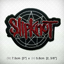 new SLIPKNOT Embroidered Iron on Patch or Sew IOWA Heavy nu metal Awesome GUITAR