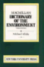Dictionary of the Environment: Third Edition-ExLibrary