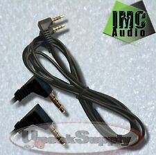 From USA 3.5mm Male to Male Audio Aux Plug 3-Ring Mini AV Cable Fast Delivery