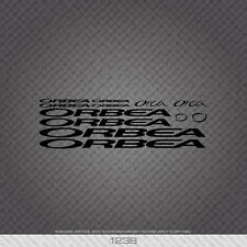 01238 Orbea Bicycle Stickers - Decals - Transfers - Black