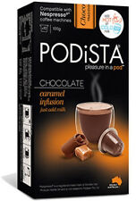 Hot Chocolate Nespresso Compatible Capsules Hot Cocoa Pods - Caramel Infusion