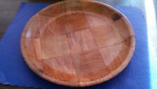 "10"" WOODWEAVE DINNER PLATE ( SIX PER BOX ) DISHWASHER SAFE/MICROWAVEABLE"