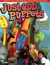 Just Add Puppets: 20 Instant Puppet Skits for Children's Ministry