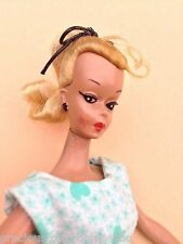 "NM NEAR MINT ORIGINAL GERMAN VINTAGE BILD LILLI HAUSSER BARBIE 7.5"" GREEN DRESS"