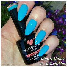 *994* VB™ Line Shiny Neon Super Blue Colour UV/LED Soak Off Nail Gel Polish