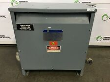 45 KVA Dry Type Isolation Transformer  HV 480 Delta LV 480Y/277 Square D 45T76H