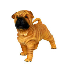 SHAR PEI Puppy Resin Figure Statue Cute Dog Pet Breed Kennel lifesize 沙皮 wrinkle