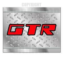 Holden Torana GTR - RED LETTERS - CHECKER PLATE LOOK - Stickers