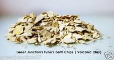 GJ's Multani Mitti (Fuller's Earth) Volcanic Clay Chips -1kg Bag (Purest Form )