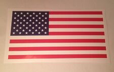 "New American Flag Sticker Decal For Car, Truck, Boat, Patriotic  3""x5.5"" Made US"