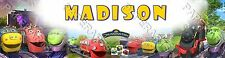 Disney Junior Chuggington Personalized Name Poster Glossy Photo Paper - Gift