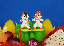 Disney Chip and Dale Cake Topper Figure Model Decoration K1271 J K