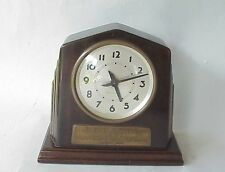 Antique Seth Thomas GM General Motors Acceptance Presantation Clock IMHOLT Chevy