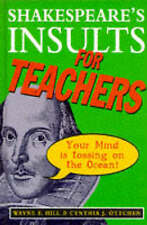 Shakespeares Insults for Teachers,GOOD Book