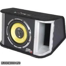 "Vibe BlackDeath 12"" Active Subwoofer Sub and Box 1800w Built in AMP"