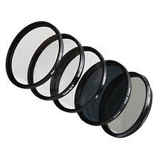 Mercancía de clase B 5x Filterset rejilla filtro +cpl+uv+nd8+ 58mm macro