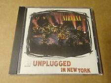 CD / NIRVANA - UNPLUGGED IN NEW YORK