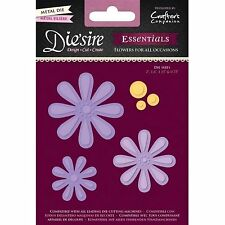 DIE'SIRE ESSENTIALS FLOWERS FOR ALL OCCASIONS CUTTING DIE by CRAFTERS COMPANION