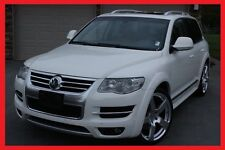 VW TOUAREG mk II 2006 - 2010 R50 LOOK WHEEL ARCH EXTENSIONS - FENDER FLARES  NEW