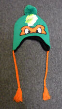 NWT Nickelodeon Teenage Mutant Ninja Turtles MICHELANGELO laplander beanie w/POM