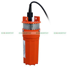 DC 12 Volts Deep Well Submerbile Water Pump  360/96 lph/gph for Ranch Farm Home