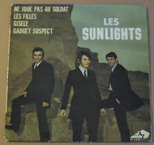"LES SUNLIGHTS - GADGET SUSPECT - FR DISC AZ 7"" EP French Mod groover HEAR"