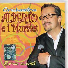 ORCHESTRA ALBERTO e I MURALES CD ERA COSI made in ITALY
