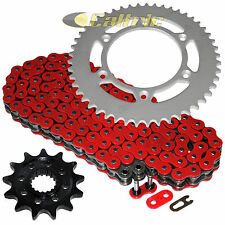 Red O-Ring Drive Chain & Sprocket Kit Fits HONDA CR250R 2003 / CRF450R 2004-2016