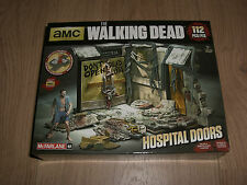 The Walking Dead TV series Sets Atlanta Hospital Doors Bauset McFarlane Toys