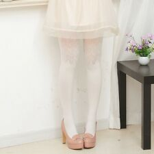 Womens Lady Sweet Heart Wavy Floral Pattern Pantyhose Stockings Underwear Tights