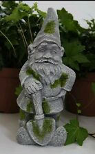 "CONCRETE PLASTER MOLD LATEX ONLY 10"" tall gnome"
