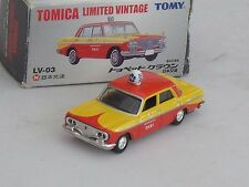 TOMICA LV03 - TOYOPET CROWN TAXI - MINT AND BOXED