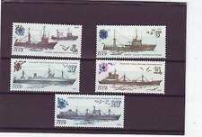 RUSSIA - SG5341-5345 MNH 1983 FISHING VESSELS