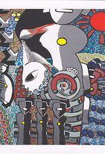 """Hermann Bloch """"Entflammen"""" Zeitgenössische Kunst Moderne Kunstpostkarte"""