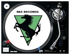 R & S Records - Oldskool Rave Hardcore Turntable / DJ Slipmats