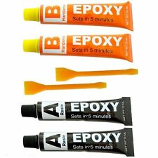 Extra Strong Epoxy Resin Glue Super Bond, Hardener,Metal,Plastic,Wood,Rubber New
