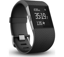 FITBIT Surge Activity Tracker Wristband Touchscreen Water Resistant Small Black