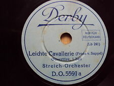 W/14/13 Schellackplatte Leichte Cavallerie (Franz v. Suppè) – Ouvertüre Teil 1+2