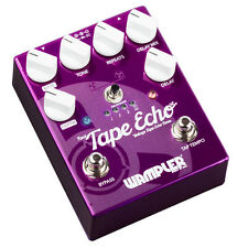 Wampler Faux Tape Echo with Tap Tempo Delay Guitar Effect Pedal Demo