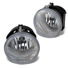 04-10 Jeep Grand Cherokee/05-09 Chrysler 300/C Clear Fog Lights Pair