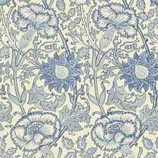 2 Rollos 212567 William Morris Rosa & Rose Papel Pintado Azul
