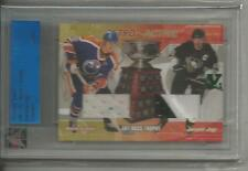 Gretzky Jagr ITG Ultimate Vault 1/1 on UM2 Retro-Active. Emerald Logo