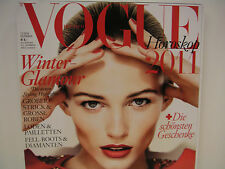 BRAND NEW: VOGUE DEUTSCH DEZEMBER/DECEMBER 2010 ISSUE WITH EDITA COVER